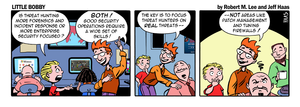 Threat hunting might be a cool thing for another month until vendors ruin it